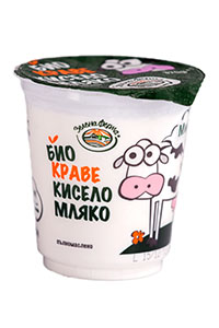 organic cow yogurt
